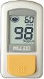 やさしくクリップ、かんたん測定、防水加工のパルスオキシメータBO-800